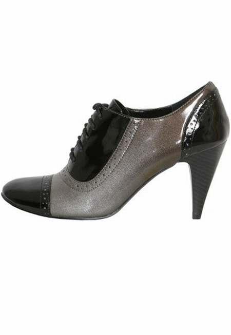 chaussures Richelieu Talon Cher Plat Pas Femme qw1wU8g 3ea601427f87